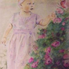 Desirée, watercolous on paper, 2011, 30x20cm, private colection