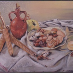 Still life, oil con canvas,2011, 40x60cm, private collection